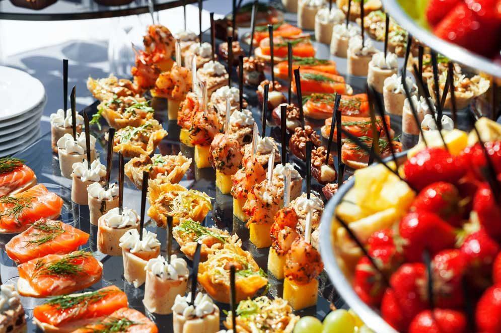 5 astuces traiteur pour un buffet organisé et original